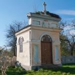 Tamanowice. Kaplica grobowa Drohojowskich na cmentarzu przy miejscowej cerkwi.