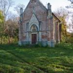Trzcieniec. Kaplica grobowa Youngów – ostatnich właścicieli majątku.