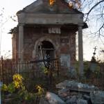 Tuligłowy (ukr.Тулиголове). Kaplica grobowa Balów na miejscowym cmentarzu rzymskokatolickim.