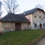 Tuligłowy (ukr.Тулиголове). Jeden z budynków gospodarczego zaplecza pałacu.