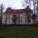 Tuligłowy (ukr.Тулиголове). Pałac Balów. Widok elewacji frontowej.