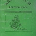 Arboretum Bolestraszyce. Zeszyt 5 - Bolestraszyce 1997 - Cena 5 zł