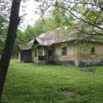 Kornałowice (ukr. Корналовичі). Dwór Sozańskich. Widok od frontu.