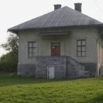 Łanowice (ukr. Лановичі). Przebudowany budynek dawnego dworu Teodora Serwatowskiego.