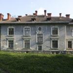 Nadyby (ukr. Надиби). Pałac Tchórznickich, elewacja boczna.