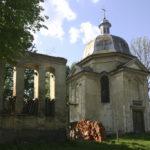 Rakowa (ukr. Ракова). Kaplica publiczna wybudowana w latach 1867-1868 przez Ludwika Dolańskiego w pobliżu dworu