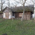 Morańce (ukr. Мор'янці). Budynek dawnego dworu (?), oficyny (?).