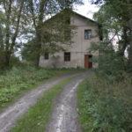 Nahaczów (ukr. Нагачів). Przebudowany budynek dawnego dworu.