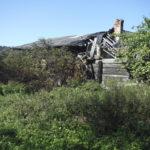 Radycz (ukr. Радич). Ruiny domu w którym mieszkała administrator tamtejszego majątku.