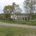 Tureczki Niżne (ukr. Нижній Турів). Miejsce w którym stał dwór, a obecnie znajduje się współczesny budynek szkoły.