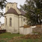 Kłodno (ukr. Велике Колодно). Opuszczony rzymskokatolicki kościół.