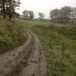 Nowe Sioło (ukr. Нове Село). Całkowicie osuszony staw podworski, na terenie którego znajduje się obecnie boisko szkolne.