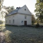 Żabcze Murowane (ukr. Муроване). Kaplica zaadaptowana na budynek administracyjny.